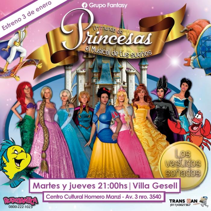 Un Mundo de PrincesasGesell (Estreno) Villa Gesell 030117.jpg